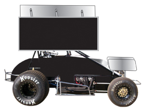 Wing Sprint Race Car