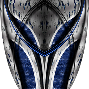 Custom Aftermath Blue Graphics