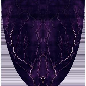 Lightning Purple Vinyl Wrap For Race Cars