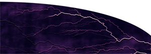 Custom Lightning Purple Graphics