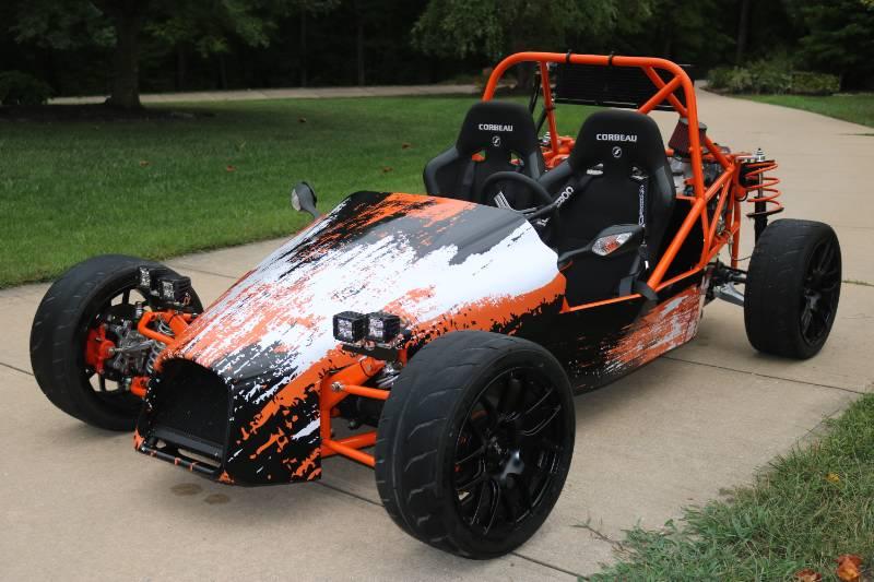 Df Kit Car >> 2018 Df Goblin Custom Kit Car My Son And I Built Using A 2007 Chevy
