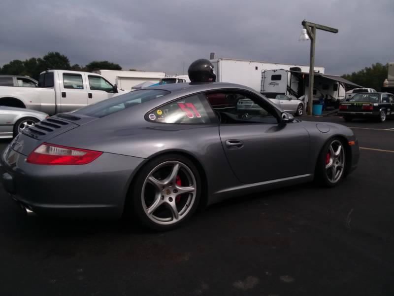 2006 Porsche 911 Carrera S Sports Car Lettering from David C