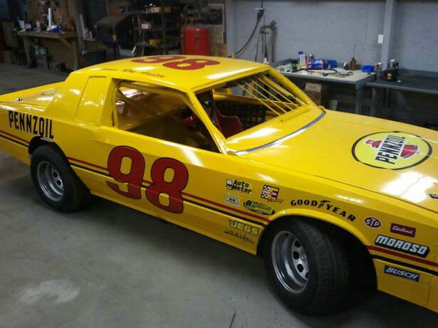 Jimmy Austin S Nice Looking Yellow Car Scheme Racinggraphics Com