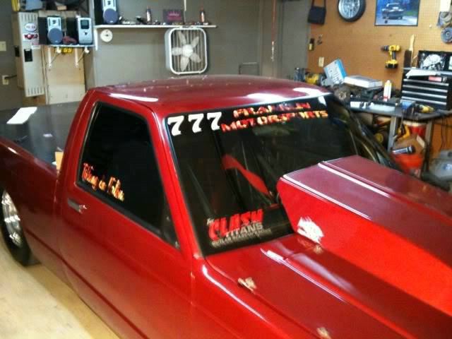 Chevy Drag Truck With Graphics Racinggraphics Com