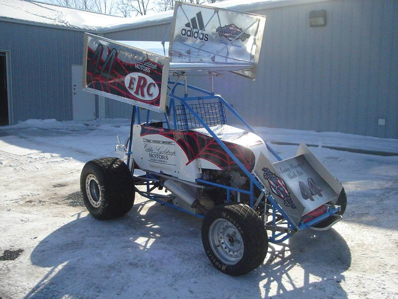 Seth Motsinger Mini Sprint Race Car Wrap Racinggraphics Com