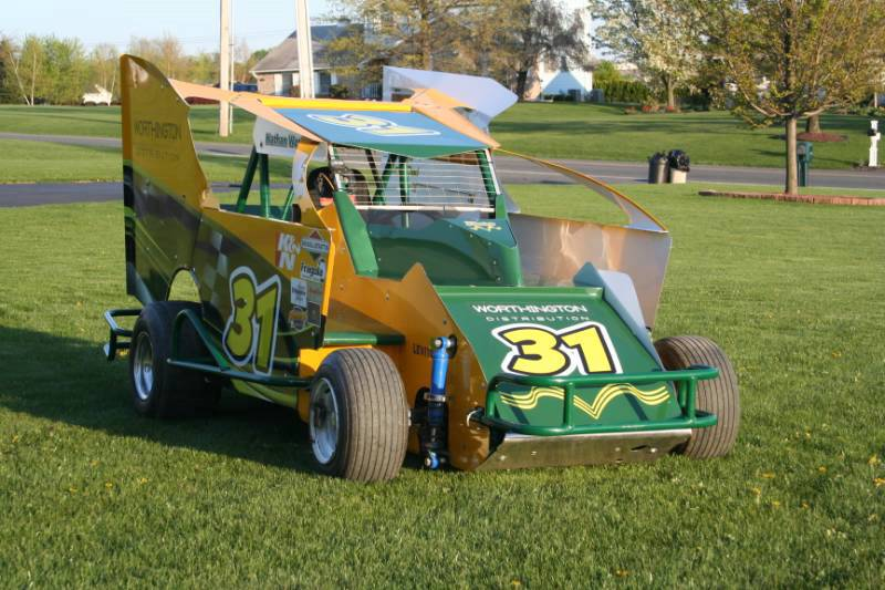 Slingshot Race Car Wrap