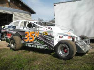 Chris Haines Dirt Modified Wrap