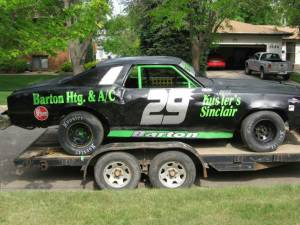 Ethan Bartons Dirt Race Car