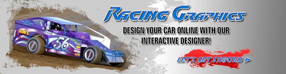 Race Car Graphics Custom Decals Wraps Vinyl Lettering - Custom car decal maker online