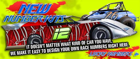 Race Car Wraps Templates Car Race Numbers Template
