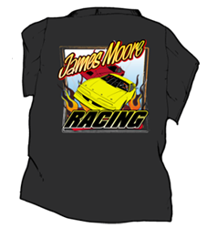 Racing tshirts for dirt track race teams crews drivers and for Racing t shirts custom
